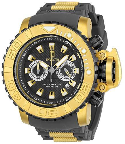 インヴィクタ インビクタ 腕時計 メンズ Invicta Jason Taylor Mens Quartz 58Mm Gold, Gunmetal Case Gunmetal Dial - Model 23720インヴィクタ インビクタ 腕時計 メンズ