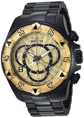 インヴィクタ インビクタ 腕時計 メンズ Invicta Men's Excursion Quartz Watch with Stainless-Steel Strap, Black, 26 (Model: 24267)インヴィクタ インビクタ 腕時計 メンズ