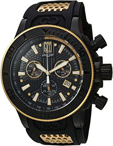インヴィクタ インビクタ 腕時計 メンズ 【送料無料】Invicta Men's JT Stainless Steel Quartz Watch with Polyurethane Strap, Black, 33.2 (Model: 19577)インヴィクタ インビクタ 腕時計 メンズ