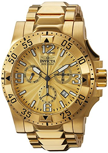 インヴィクタ インビクタ 腕時計 メンズ 【送料無料】Invicta Men's Excursion Quartz Watch with Stainless-Steel Strap, Gold, 26.1 (Model: 23902)インヴィクタ インビクタ 腕時計 メンズ