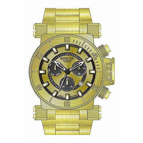 インヴィクタ インビクタ フォース 腕時計 メンズ Invicta Coalition Forces Chronograph Gold Dial Mens Watch 26644インヴィクタ インビクタ フォース 腕時計 メンズ