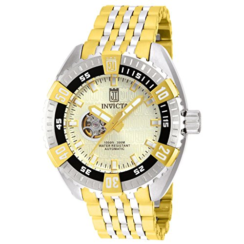 インヴィクタ インビクタ 腕時計 メンズ 【送料無料】Invicta 15883 Jason Taylor Two Tone Open Heart Automatic Men's Watch with Limited Edition Caseインヴィクタ インビクタ 腕時計 メンズ