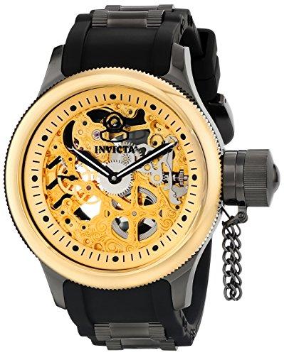 インヴィクタ インビクタ 腕時計 メンズ Invicta Men's 17273 Russian Diver Analog Display Mechanical Hand Wind Black Watchインヴィクタ インビクタ 腕時計 メンズ