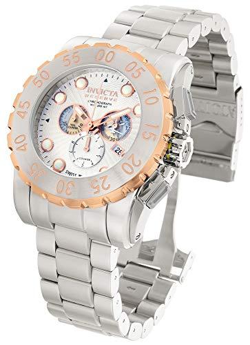 インヴィクタ インビクタ リザーブ 腕時計 メンズ 【送料無料】Invicta Reserve Chronograph Silver Dial Stainless Steel Mens Watch 11026 [Wat...インヴィクタ インビクタ リザーブ 腕時計 メンズ