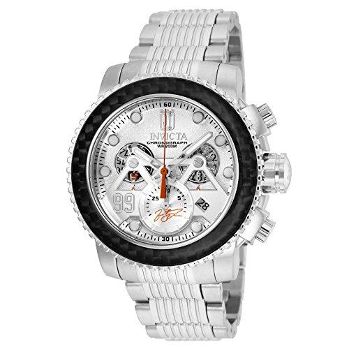 インヴィクタ インビクタ 腕時計 メンズ Invicta Men's 25675 Jason Taylor Quartz Chronograph Silver Dial Watchインヴィクタ インビクタ 腕時計 メンズ