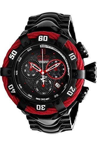 インヴィクタ インビクタ 腕時計 メンズ 【送料無料】Invicta Men's JT Quartz Watch with Stainless-Steel Strap, Black, 29 (Model: 22177)インヴィクタ インビクタ 腕時計 メンズ