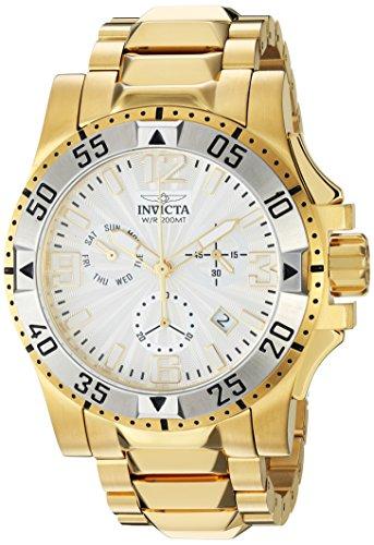 インヴィクタ インビクタ 腕時計 メンズ Invicta Men's Excursion Quartz Watch with Stainless-Steel Strap, Gold, 26 (Model: 23905インヴィクタ インビクタ 腕時計 メンズ