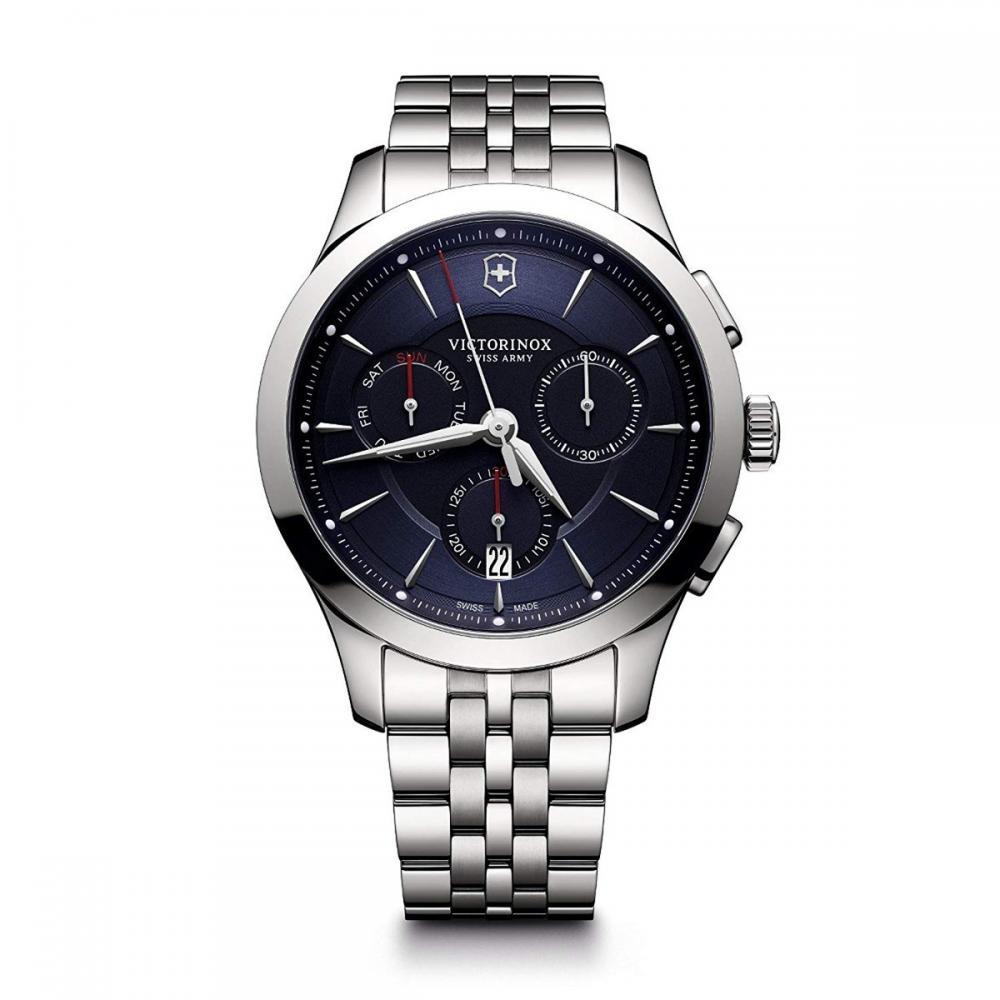 ビクトリノックス スイス 腕時計 メンズ 【送料無料】Victorinox Men's Alliance Swiss-Quartz Watch with Stainless-Steel Strap, Silver, 21 (Model: 241746)ビクトリノックス スイス 腕時計 メンズ