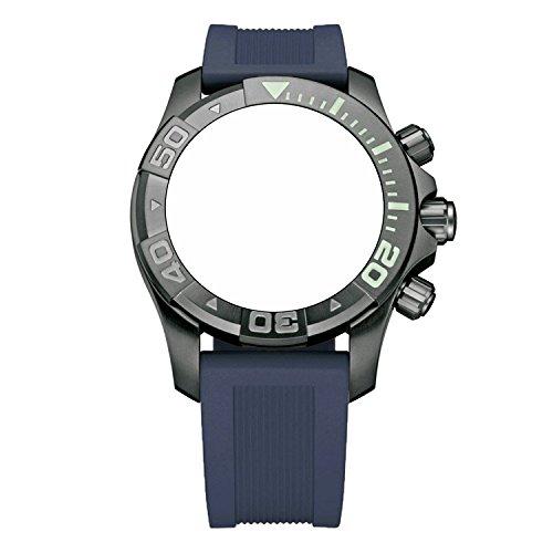 ビクトリノックス スイス 腕時計 メンズ 【送料無料】Victorinox Swiss Army Dive Master 500 Navy Blue Genuine Rubber Strap Diver Watch Band 22mmビクトリノックス スイス 腕時計 メンズ