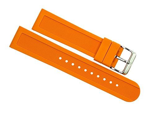 ビクトリノックス スイス 腕時計 メンズ 【送料無料】Victorinox Swiss Army Dive Master 500 Orange Genuine Rubber Strap Diver Watch Band 22mmビクトリノックス スイス 腕時計 メンズ