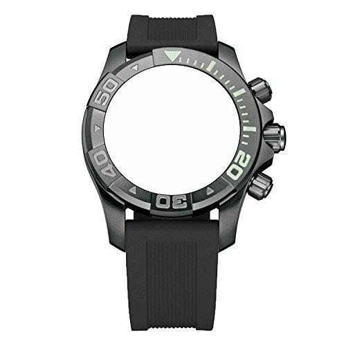 ビクトリノックス スイス 腕時計 メンズ 【送料無料】Victorinox Swiss Army Dive Master 500 Black Genuine Rubber Strap Diver Watch Band 22mmビクトリノックス スイス 腕時計 メンズ