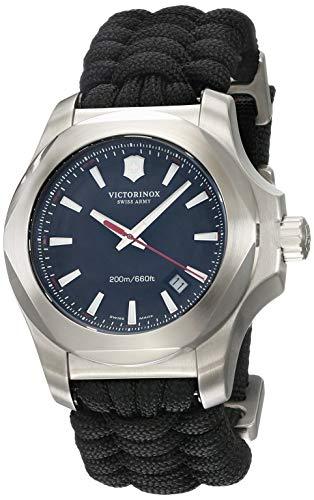 ビクトリノックス スイス 腕時計 メンズ 【送料無料】Victorinox I.N.O.X Grey Dial Swiss Quartz Mens Watch 241726ビクトリノックス スイス 腕時計 メンズ