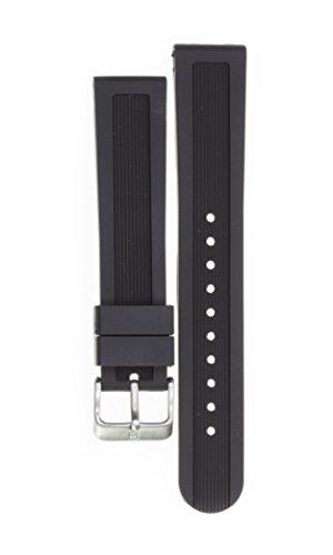 ビクトリノックス スイス 腕時計 メンズ 【送料無料】Victorinox Swiss Army Dive Master Black Soft Rubber Strap Diver Watch Band 22mm X1 Kビクトリノックス スイス 腕時計 メンズ