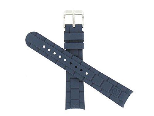 ビクトリノックス スイス 腕時計 メンズ Swiss Army 18mm Small Blue Rubber Strap for the Maverick GS 241610ビクトリノックス スイス 腕時計 メンズ