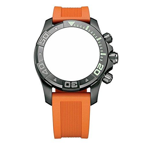 ビクトリノックス スイス 腕時計 メンズ 【送料無料】Victorinox Swiss Army Dive Master 500 Orange Genuine Rubber Strap Diver Watch Band 20mmビクトリノックス スイス 腕時計 メンズ