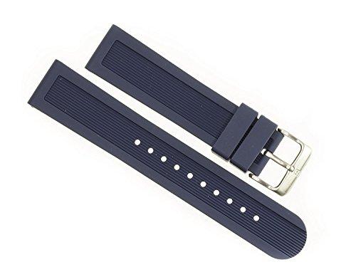 ビクトリノックス スイス 腕時計 メンズ 【送料無料】Victorinox Swiss Army Dive Master Navy Blue Genuine Rubber Strap Diver Watch Band 20mmビクトリノックス スイス 腕時計 メンズ