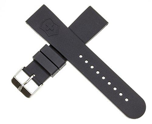 ビクトリノックス スイス 腕時計 メンズ Victorinox Swiss Army Dive Master Brown Genuine Rubber Strap Diver Watch Band 22mmビクトリノックス スイス 腕時計 メンズ