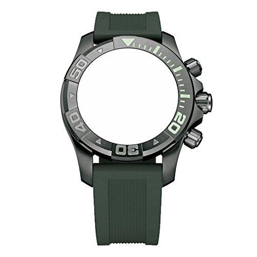 ビクトリノックス スイス 腕時計 メンズ 【送料無料】Victorinox Swiss Army Dive Master 500 Army Green Genuine Rubber Strap Diver Watch Band 20mmビクトリノックス スイス 腕時計 メンズ