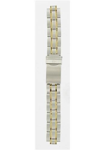 腕時計 ウェンガー スイス メンズ 腕時計 【送料無料】Wenger 16mm Gold/silver Two Tone Metal Band腕時計 ウェンガー スイス メンズ 腕時計