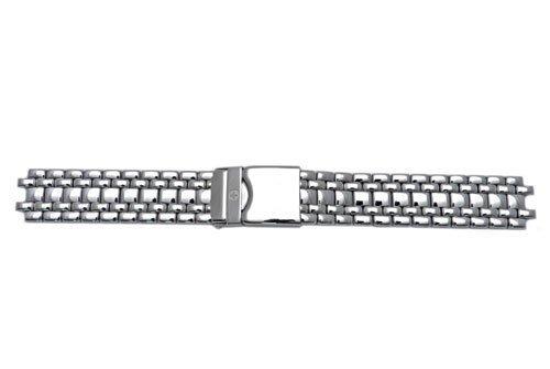 ウェンガー スイス メンズ 腕時計 【送料無料】Wenger 18mm Silver Tone S/S Metal Bandウェンガー スイス メンズ 腕時計