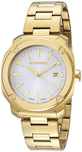 腕時計 ウェンガー スイス メンズ 腕時計 【送料無料】Wenger Men's Analogue Quartz Watch with Stainless Steel Strap 01.1141.116腕時計 ウェンガー スイス メンズ 腕時計