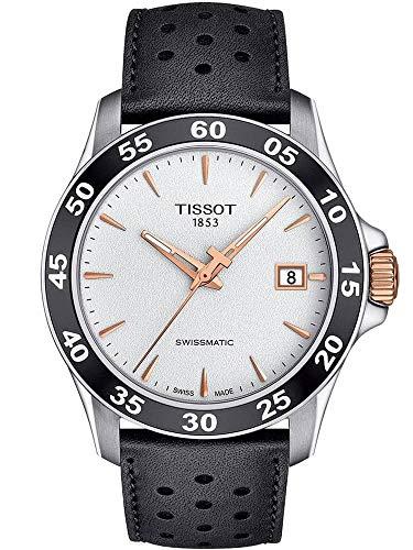 腕時計 ティソ メンズ 【送料無料】Tissot V8 Swissmatic - T1064072603100 Silver/Black One Size腕時計 ティソ メンズ