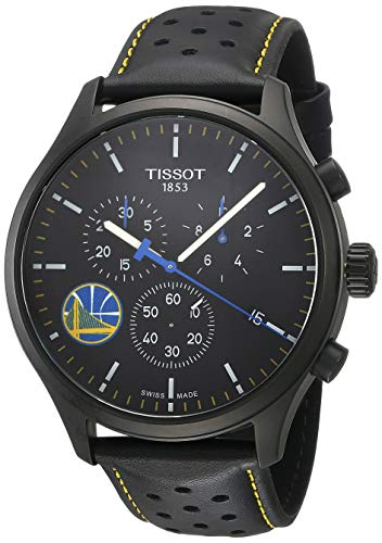 ティソ 腕時計 メンズ 【送料無料】Tissot Chrono XL NBA Golden State Warriors Championship Edition - T1166173605102 Black/Black/Blue One Sizeティソ 腕時計 メンズ