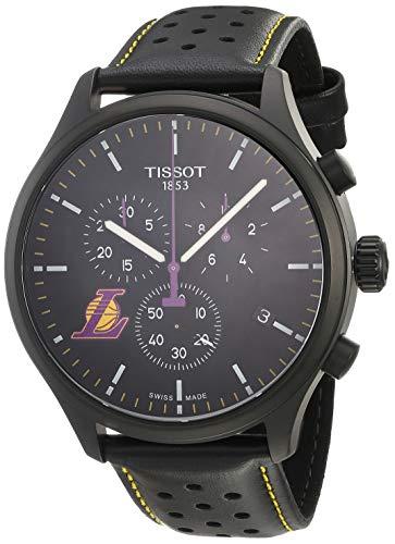 ティソ 腕時計 メンズ 【送料無料】Tissot Chrono XL NBA Los Angeles Lakersティソ 腕時計 メンズ