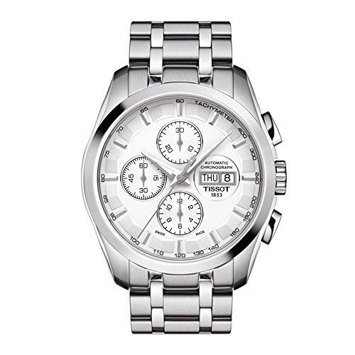 腕時計 ティソ メンズ 【送料無料】Tissot Couturier Chronograph Automatic Men's Watch T035.614.11.031.00腕時計 ティソ メンズ