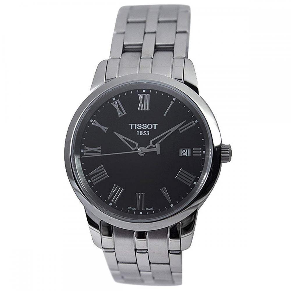 腕時計 ティソ メンズ 【送料無料】Tissot Men's Black Dial IP Stainless Steel腕時計 ティソ メンズ