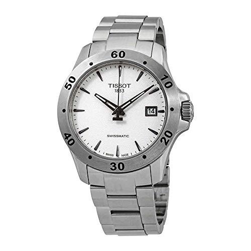 ティソ 腕時計 メンズ Tissot V8 Automatic Silver Dial Mens Watch T1064071103101ティソ 腕時計 メンズ