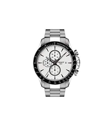 ティソ 腕時計 メンズ 【送料無料】Tissot V8 Chronograph Silver Dial Men's Watch T106.427.11.031.00ティソ 腕時計 メンズ