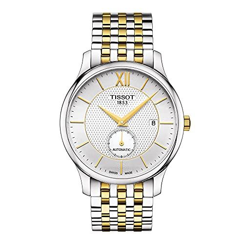 ティソ 腕時計 メンズ 【送料無料】Tissot Tradition Automatic Silver Dial Men's Watch T063.428.22.038.00ティソ 腕時計 メンズ