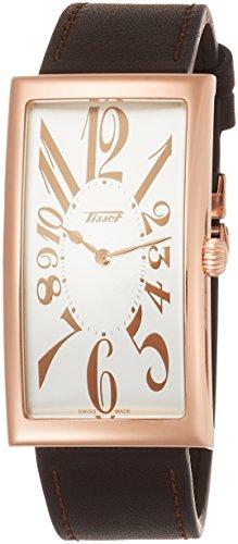 ティソ 腕時計 メンズ Tissot Heritage Banana Centenary Edition Leather Mens Watch T117.509.36.032.00ティソ 腕時計 メンズ