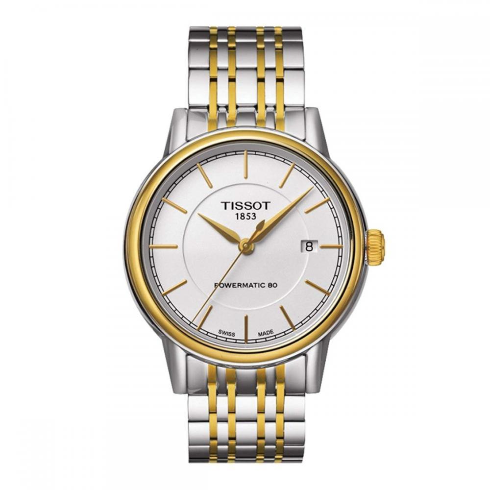 腕時計 ティソ メンズ 【送料無料】Tissot Men's T0854072201100 Analog Display Swiss Automatic Two Tone Watch腕時計 ティソ メンズ