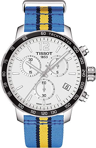 ティソ 腕時計 メンズ Tissot Quickster NBA Denver Nuggets Chronograph Mens Watch T0954171703725ティソ 腕時計 メンズ