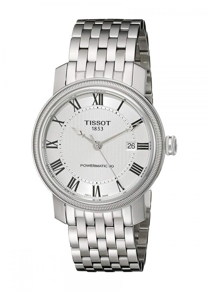 腕時計 ティソ メンズ 【送料無料】Tissot Men's T0974071103300 Bridgeport Analog Display Swiss Automatic Silver Watch腕時計 ティソ メンズ