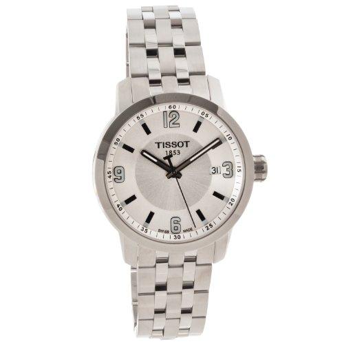 腕時計 ティソ メンズ 【送料無料】Tissot PRC 200 Silver Quartz Sport Men's watch #T055.410.11.037.00腕時計 ティソ メンズ