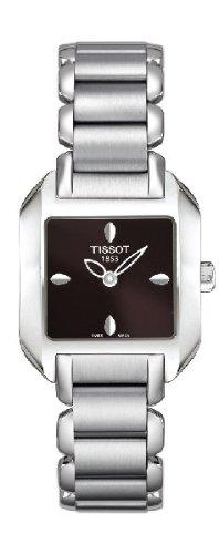 腕時計 ティソ レディース 【送料無料】Tissot T-Wave Brown Dial Women's Watch T02128561 Women's Watch腕時計 ティソ レディース
