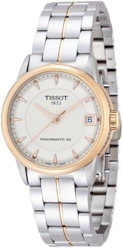 ティソ 腕時計 レディース Tissot Lady Luxury Automatic Ivory Dial Two-Tone Stainless Steel Ladies Watch T0862072226101ティソ 腕時計 レディース