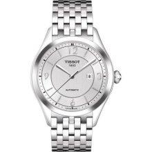 ティソ 腕時計 レディース Tissot T0382071103700 Watch T-One Ladies - Silver Dial Stainless Steel Case Automatic Movementティソ 腕時計 レディース