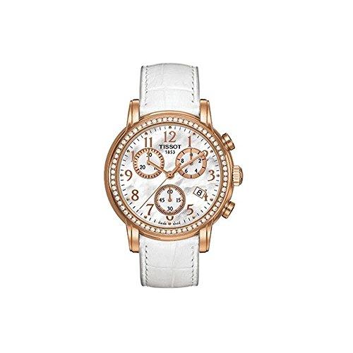 ティソ 腕時計 レディース 【送料無料】Tissot Dressport Mother of Pearl Dial Leather Strap Ladies Watch T0502173611201ティソ 腕時計 レディース