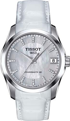 ティソ 腕時計 レディース Tissot Couturier Lady Powermatic 80 Automatic Ladies Watch T035.207.16.116.00ティソ 腕時計 レディース