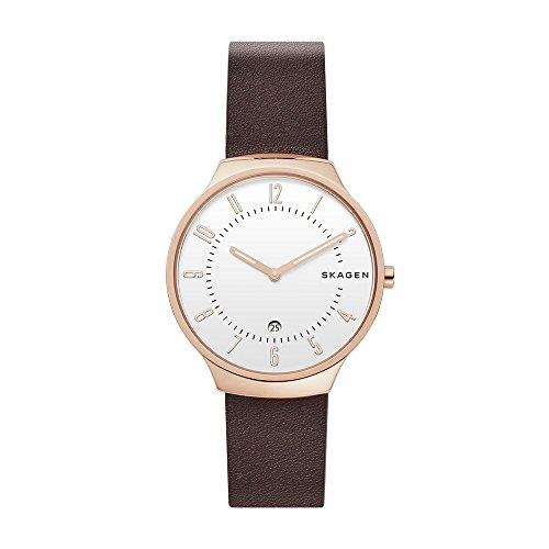 スカーゲン 腕時計 メンズ 【送料無料】Skagen Men's SKW6458 Analog Display Analog Quartz Brown Watchスカーゲン 腕時計 メンズ