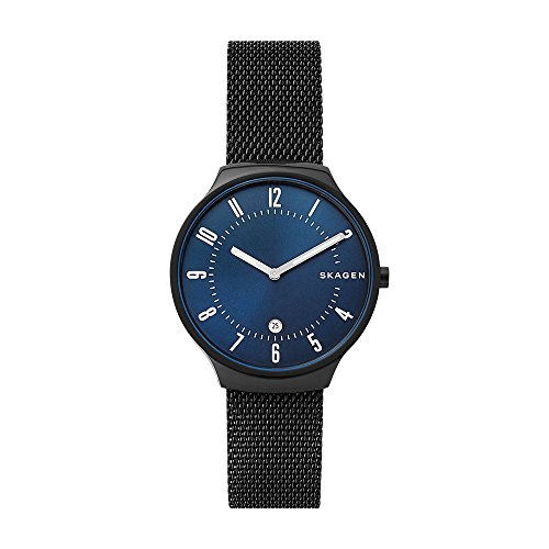スカーゲン 腕時計 メンズ Skagen Men's Grenen - SKW6461 Black One Sizeスカーゲン 腕時計 メンズ