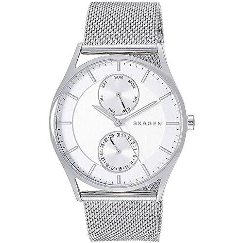 スカーゲン 腕時計 メンズ Skagen SKW1065 Holst Analog Silver Dial Men's Watchスカーゲン 腕時計 メンズ