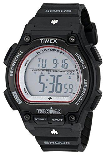 タイメックス 腕時計 メンズ Timex Ironman Men's | Black Strap & Case Shock Resistant | Digital Watch T5K584タイメックス 腕時計 メンズ
