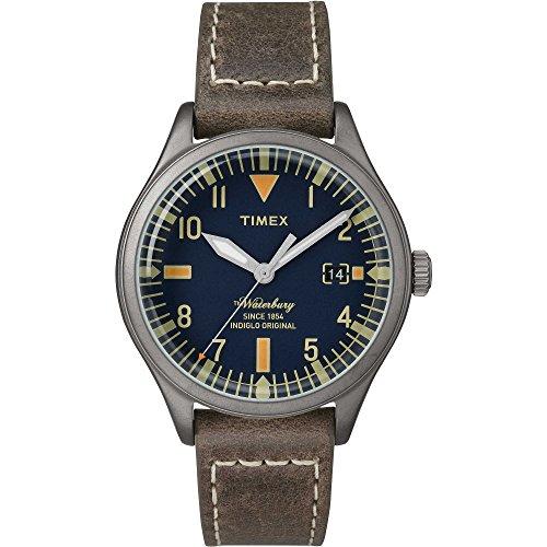 タイメックス 腕時計 メンズ 【送料無料】Timex The Waterbury Blue Dial Leather Strap Unisex Watch TW2P84400タイメックス 腕時計 メンズ