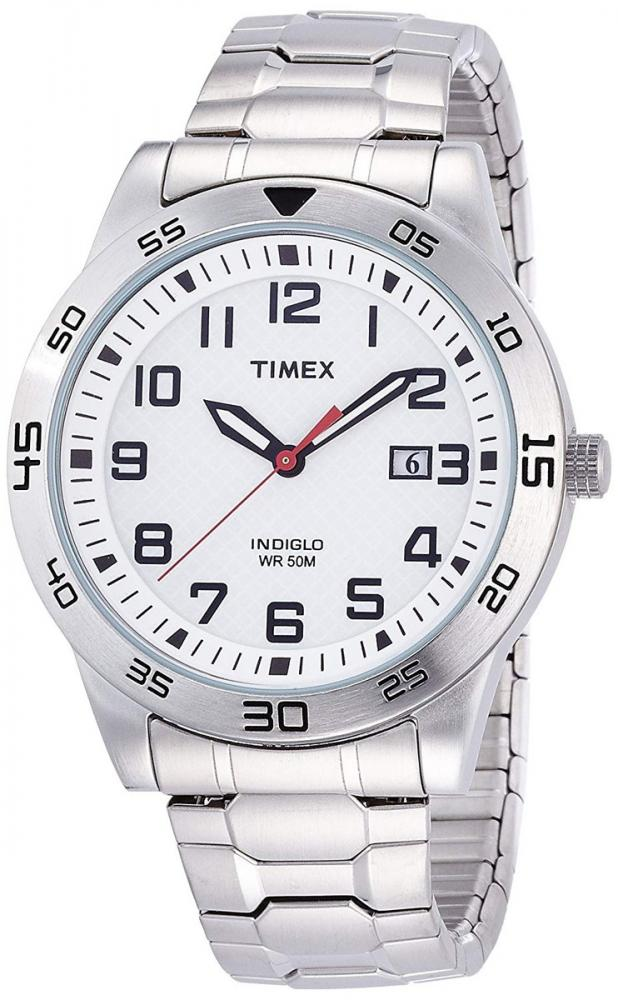 タイメックス 腕時計 メンズ Timex TW2P61400 Mens Fieldstone Way Silver Steel Bracelet Watchタイメックス 腕時計 メンズ