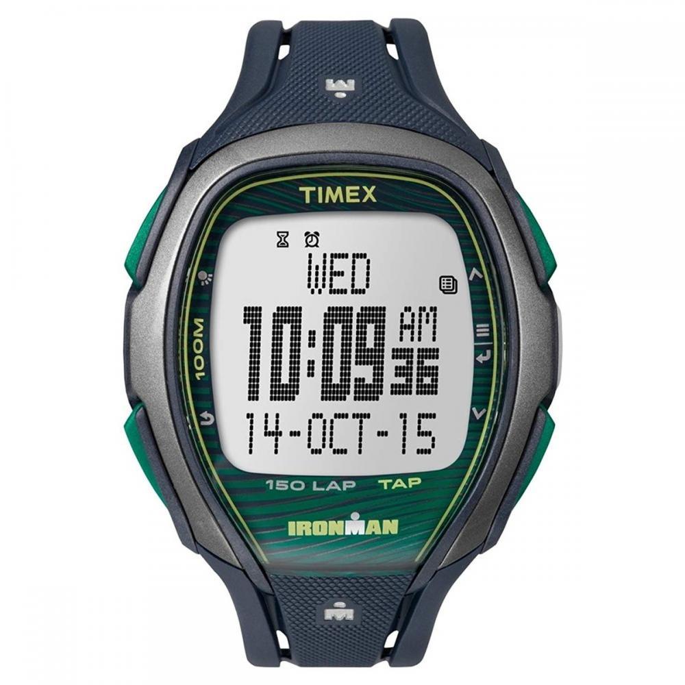 タイメックス 腕時計 メンズ 【送料無料】Timex Ironman Sleek Grey Dial Plastic Strap Unisex Watch TW5M09800タイメックス 腕時計 メンズ